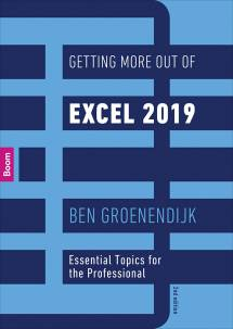 Getting More Out of Excel 2019 (tweede druk)